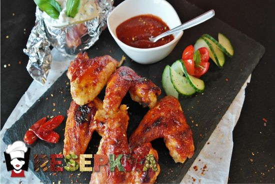 resep chicken wings pedas ala richeese factory